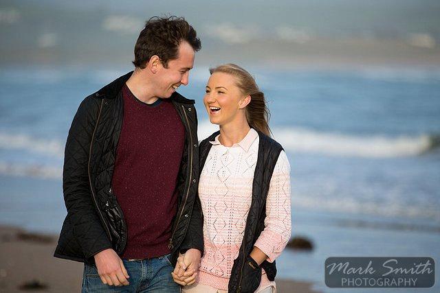 Devon Pre Wedding Photography - Alex and Tom @ Bigbury (3)