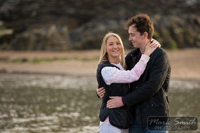 Devon Pre Wedding Photography - Alex and Tom @ Bigbury (8)