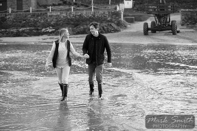 Devon Pre Wedding Photography - Alex and Tom @ Bigbury (9)
