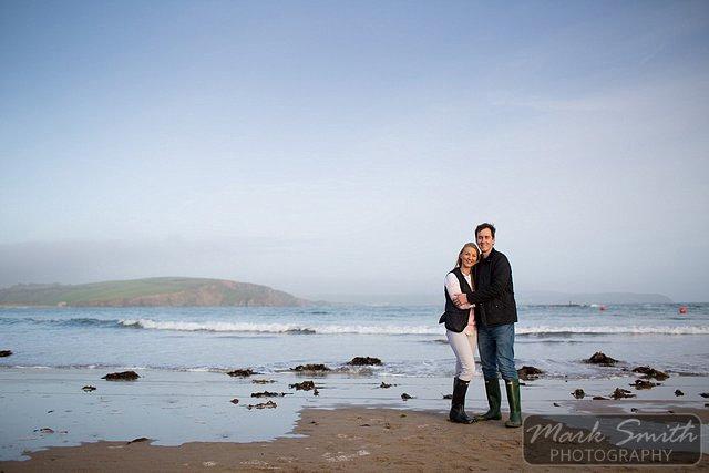 Devon Pre Wedding Photography - Alex and Tom @ Bigbury (10)