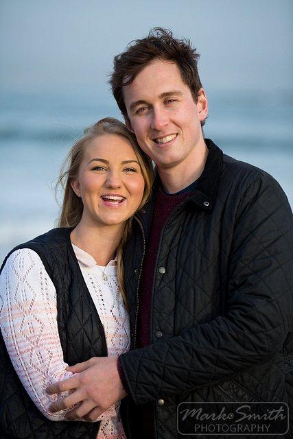 Devon Pre Wedding Photography - Alex and Tom @ Bigbury (12)