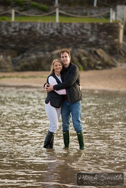 Devon Pre Wedding Photography - Alex and Tom @ Bigbury (5)