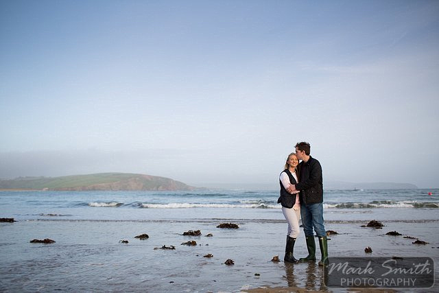Devon Pre Wedding Photography - Alex and Tom @ Bigbury (11)