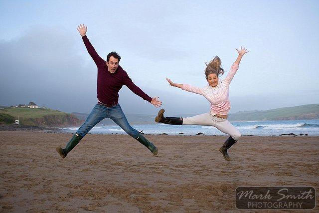 Devon Pre Wedding Photography - Alex and Tom @ Bigbury (15)