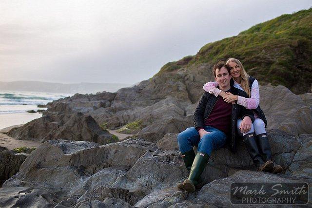 Devon Pre Wedding Photography - Alex and Tom @ Bigbury (21)