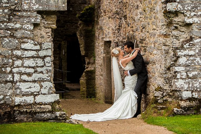 Devon Wedding Photography Berry Pomeroy Castle (36)